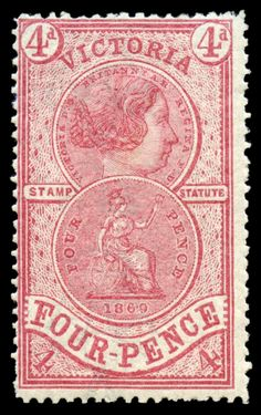Item Of Interest / Stamps Queen Vic, Australian Painting, Vintage Pictures, Postage Stamps, How To Find Out, Auction, Objects, Mad, Antiques