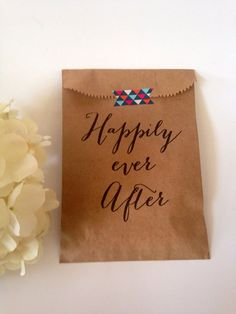 Custom Wedding Favors, Cookie bags, recycled brown paper cake take home sack, Personalized, Monogram, Rustic to Swanky, Beautiful treat gift on Etsy, $25.00