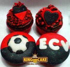 King Cake - Cupcakes do Vitória