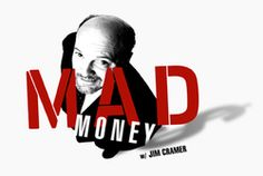 Creative inspired by Mad Money's Jim Cramer Logo & Hustle.