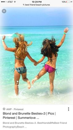 Who do those 2 bffs look like? they look like kate and tessa haha luv ya TMZ Sunny Pictures, Cute Beach Pictures, Summer Pictures, Pictures Images, Beach Photos, Summertime Pictures, Best Friend Images, Friend Pictures, Bffs