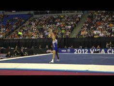 Sam Mikulak -- Floor -- 2012 Visa Championships -- Sr. Men -- Day 2