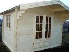 Casute din lemn & Casute de gradina Cabana, Garage Doors, Shed, Outdoor Structures, Interior, Outdoor Decor, Home Decor, Decoration Home, Indoor