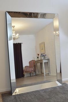 extra large floor standing mirrors future apartment pinterest floor mirrors floor. Black Bedroom Furniture Sets. Home Design Ideas