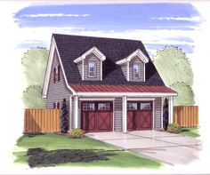 1000 images about barn garage apartments on pinterest for Menards apartment garage plans
