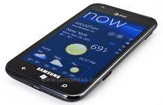 Samsung Focus S, 4.3 inch / First version Windows Phone of Samsung, 2011