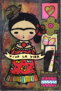 Frida Post Card