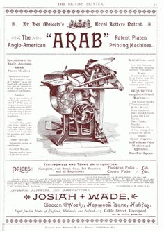 press-platen-arab-advert-britishprinter-1890