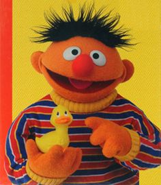 """Congratulations to the Rubber Duck, inducted into the 2013 National Toy Hall of Fame along with Chess. Its history probably goes back to the 1880s but popularity soared when Sesame Street's Ernie had a hit with his """"Rubber Duckie"""" song in 1970!"""