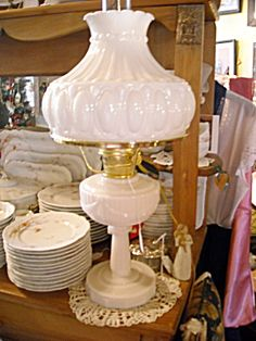 Alladin Oil Lamp Lincoln Drape.  Electrified.