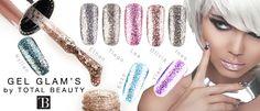 Les Glam's, vernis gels étincelants Hair, Eyebrows, Polish, Makeup, Products, California Hair