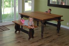 missouri hickory dining table - Google Search