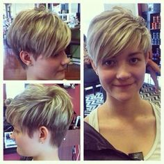 Natural Hair Beauty Salon Near Me Hairstyles Over 50, Cute Hairstyles For Short Hair, Undercut Hairstyles, Cool Haircuts, Hairstyles Haircuts, Pretty Hairstyles, Pixie Haircuts, Edgy Short Hair, Edgy Hair