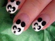 Cute Panda Nail Art Design- Click!