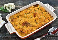 Conopida gratinata la cuptor (CC Eng Sub) Tart Recipes, Veg Recipes, Cauliflower Gratin, Mini Tart, Romanian Food, Ratatouille, Food Videos, Macaroni And Cheese, Food And Drink
