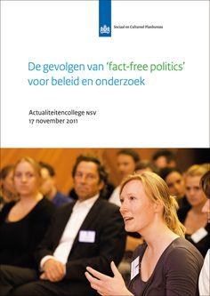 Mooie bundel over feitenvrije politiek - vanuit onderzoek en politiek