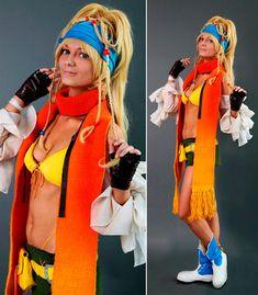 Rikku Final Fantasy X-2 Cosplay Scarf Costume от AGflowerCosplay