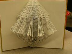 folded book art - Google Search