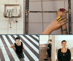[ More on the blog! ] Amazing fashion editorial by brazilian jewelry company FLUI ~ www.thebakingideas.com