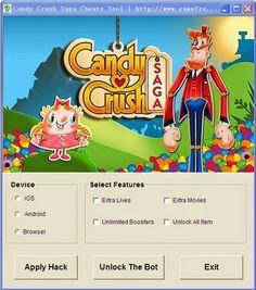 Candy Crush Saga Hack Cheat Tool