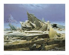 Caspar David Friedrich - Eismeer
