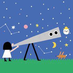 In DOT Volume 10 we meet The Little Moon, Minas. By Susie Hammer. #happymagforkids
