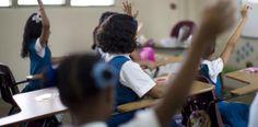 El 80% de los padres acudieron a recoger la notas de sus hijos....