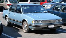 Chevrolet Celebrity - Pap-Pap McDermott's Car