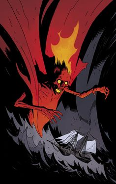 """""""Look kids, The Cult of Red King #1 is devilishly delicious."""" -Comics Bulletin on Baltimore: Cult of the Red King #1"""