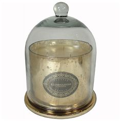 Apothecary Guild 3 Wick Candle Jar with Dome -  French Vanilla Orchid