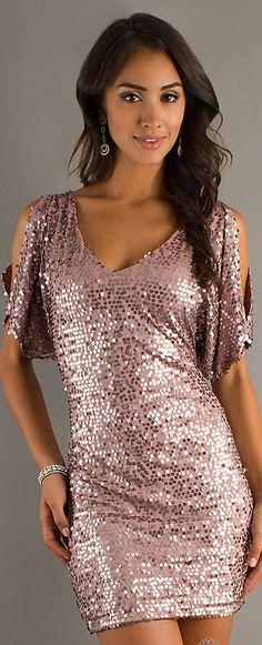 Mini dress #glitter