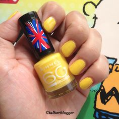 Rimmel London Sunny Days 60 Seconds, Rimmel London, Sunny Days, Nail Polish, Nails, Beauty, Different Color Nails, Trends, Finger Nails