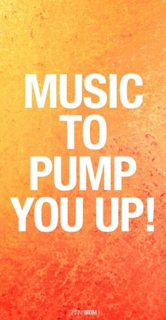 Start your day right with this pump up playlist.