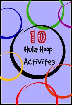 10 New Hula Hoop Activities for Kids is part of children Games Hula Hoop - Here are 10 New Hula hoop activities for kids! Hula hoops are a great way to engage and focus on large motor skills with kids! Use these activities today! Gym Games For Kids, Physical Education Activities, Pe Activities, Gross Motor Activities, Yoga For Kids, Exercise For Kids, Educational Activities, Preschool Activities, Health Education