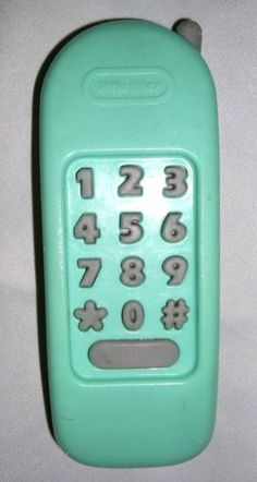 Little Tikes Green Phone. From the playhouse!
