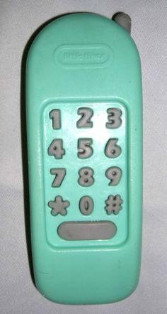 Little Tikes Green Phone