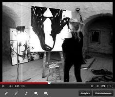 VAGNELIND painting Loreen upside down movie 13.657 views 2013