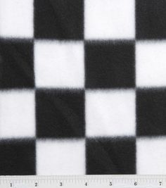 Blizzard Fleece Fabric-Black/White Check� joann fabric.com. Because we need a blanket for the races!!