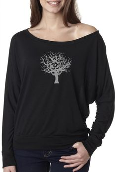 Yoga Clothing For You Ladies 'Tree of Life' Boho Tee Shirt *** Discover this special product, click the image : Yoga Weightloss