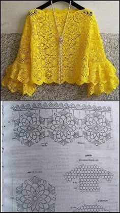 African Lace Styles, African Lace Dresses, Crochet Jacket, Crochet Blouse, Diy Blouse, Latest African Fashion Dresses, African Print Fashion, Africa Fashion, Lace Dress Styles