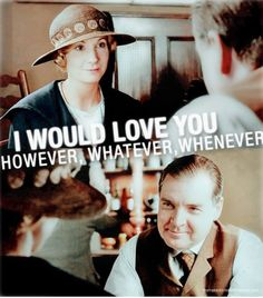 Sweet Anna and charming Mr. Bates