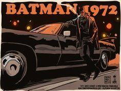 Batman 1972 by Francesco Francavilla