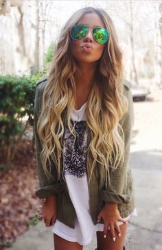 Her hair is perfection.