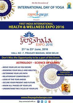 Health and wellness Expo 2016 Ayurvedic Medicine, Herbal Medicine, International Yoga Day, Ayurveda, Health And Wellness, Herbalism, Science, How To Make, Health Fitness