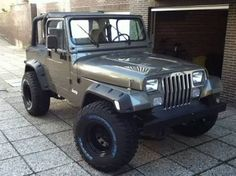 Image result for Jeep Wrangler YJ