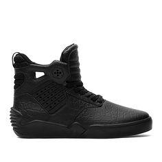 SUPRA SKYTOP IV | BLACK / BLACK / BLACK | Official SUPRA Footwear Site