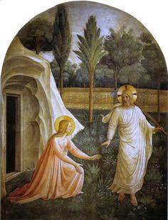 Angelico, noli me tangere - Opere di Beato Angelico - Wikipedia