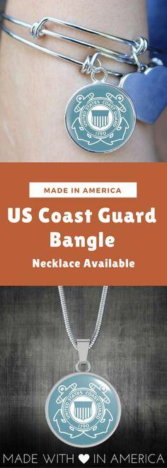 US Coast Guard Bangle - Necklace
