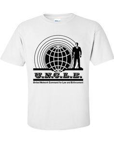 Etsy の Man From UNCLE U.N.C.L.E T-Shirt by NotJustNerds
