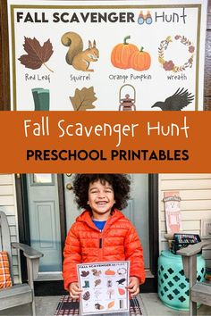 Get ready for a fun time outdoors with our creative Fall Scavenger hunt for kids. We kept this one unique with a few items that you don't usually see on a typical scavenger hunt. The kids will truly love exploring nature with this seek and find game! Nature Activities, Preschool Learning Activities, Preschool Printables, Autumn Activities, Learning Games, Halloween Scavenger Hunt, Scavenger Hunt For Kids, Fall Games, Thanksgiving Crafts